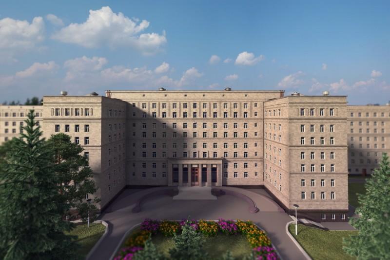 Агентство Reuters разузнало о проекте нового корпуса для президента и премьера в Центральной клинической больнице