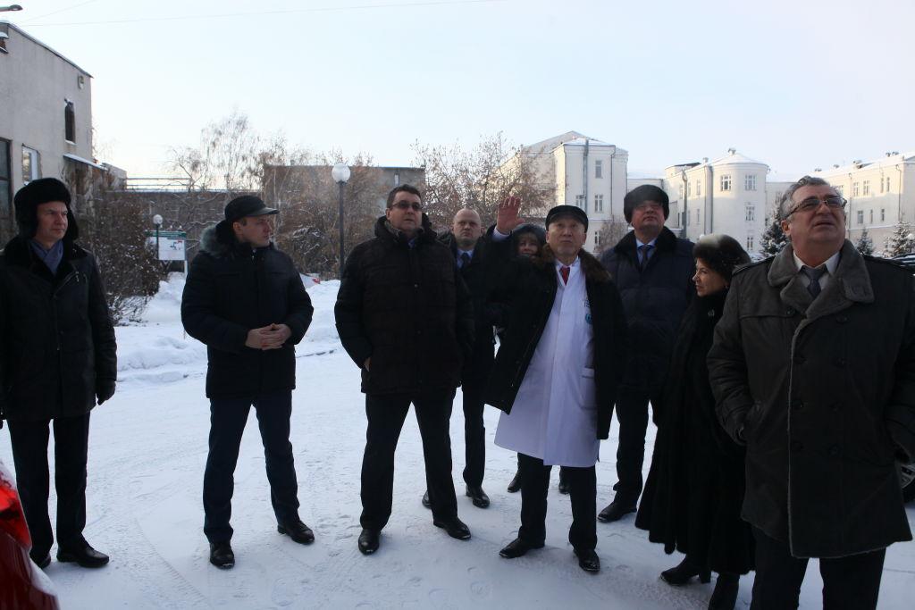 «Диагноз» поставлен. Депутаты ЗС побывали в Иркутской областной детской клинической больнице