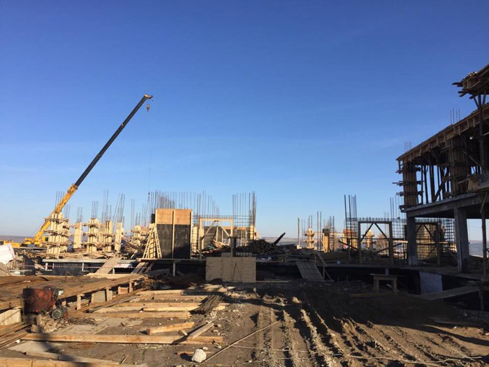 Школу начали строить в Свирске